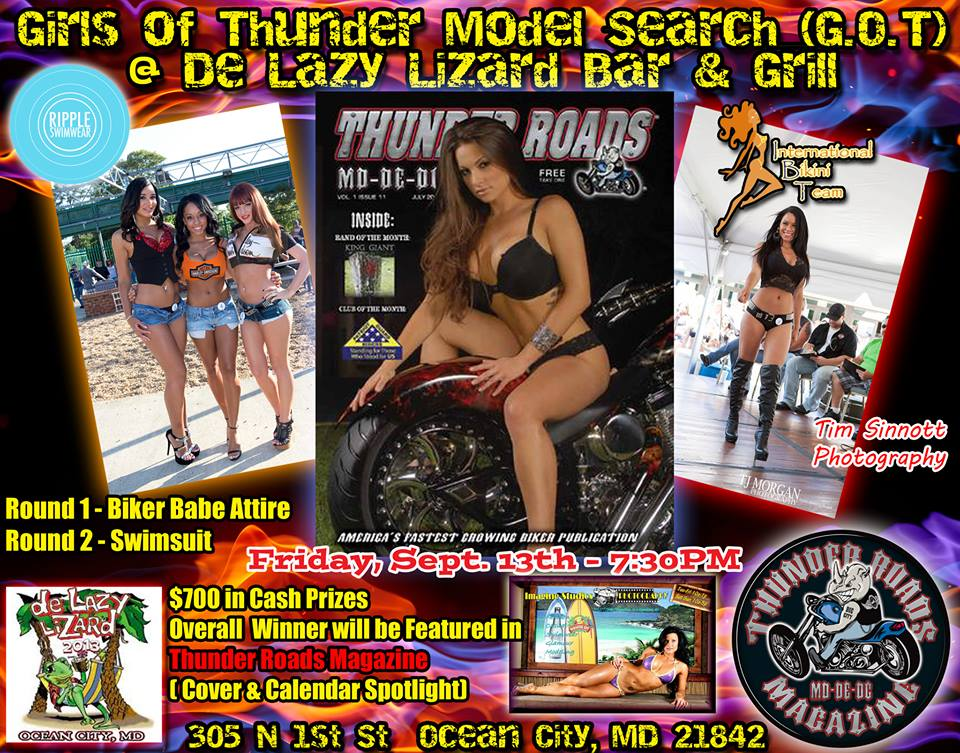 Girls of Thunder Bikini Contest